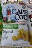 Cape cod, kettle cooked potato chips, original - Producto