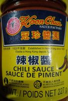 Sauce de piment - Product - fr