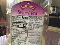 TH Sweet tea 64OZ - Ingredients - en