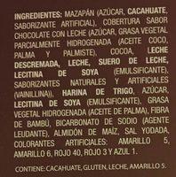 Zaks Mazapán - Ingredients
