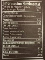 Zaks Mazapán - Nutrition facts