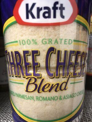 Kraft three cheese blend - Product - en