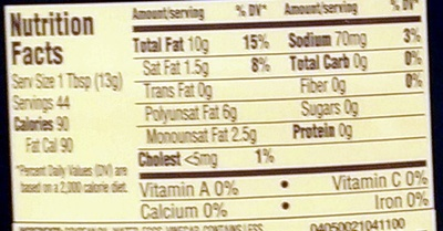 Real mayonnaise squeeze bottle - Nutrition facts - en