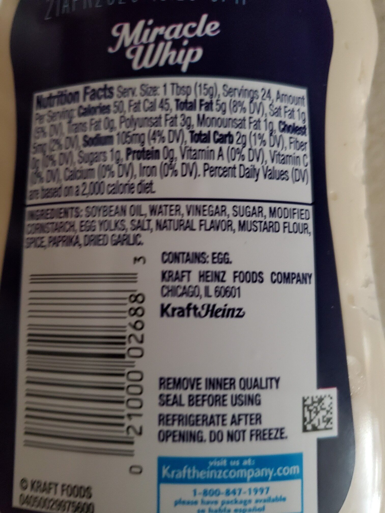 Original squeeze bottle - Ingredients - en