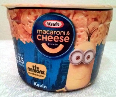Macaroni & cheese dinner - minions - Produit