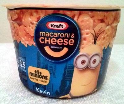 Macaroni & cheese dinner - minions - Product - en