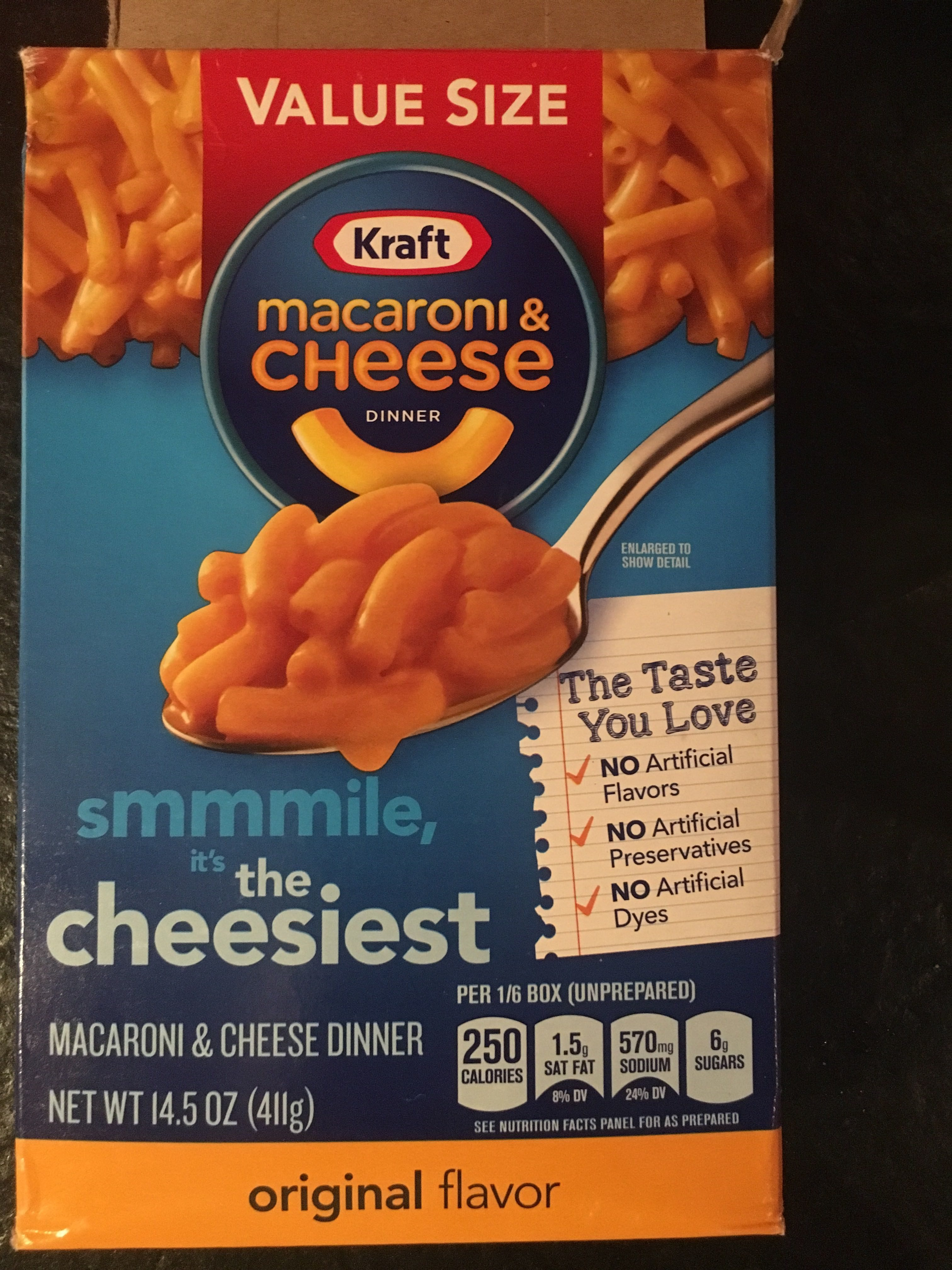 Kraft Original Flavor Macaroni & Cheese - Produit