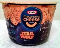 Macaroni & cheese dinner - star wars - Produit