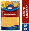 Shredded sharp cheddar cheese - Product