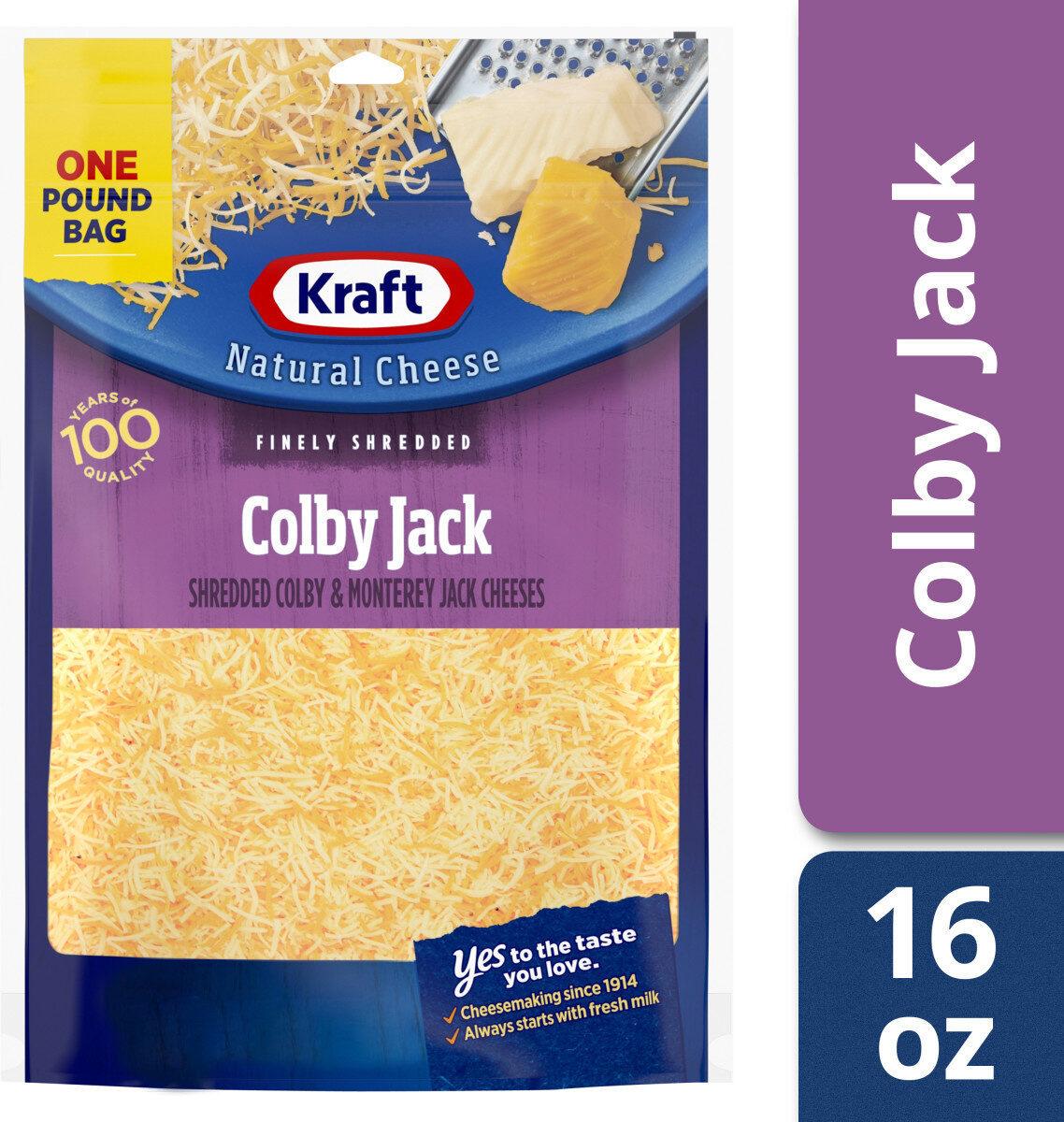 Colby & monterey jack cheeses - Produit - en