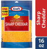 Shredded sharp cheddar cheese - Product
