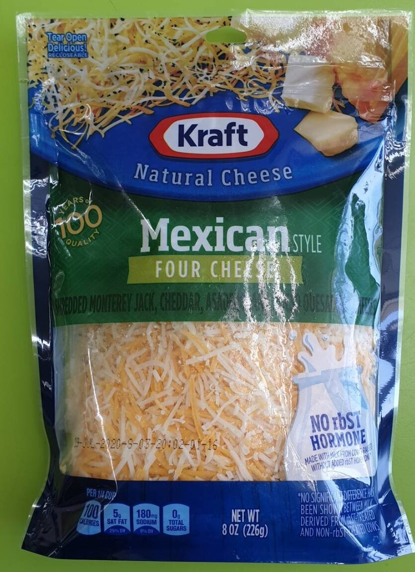 Mexican Style Four Cheesr - Produit - en