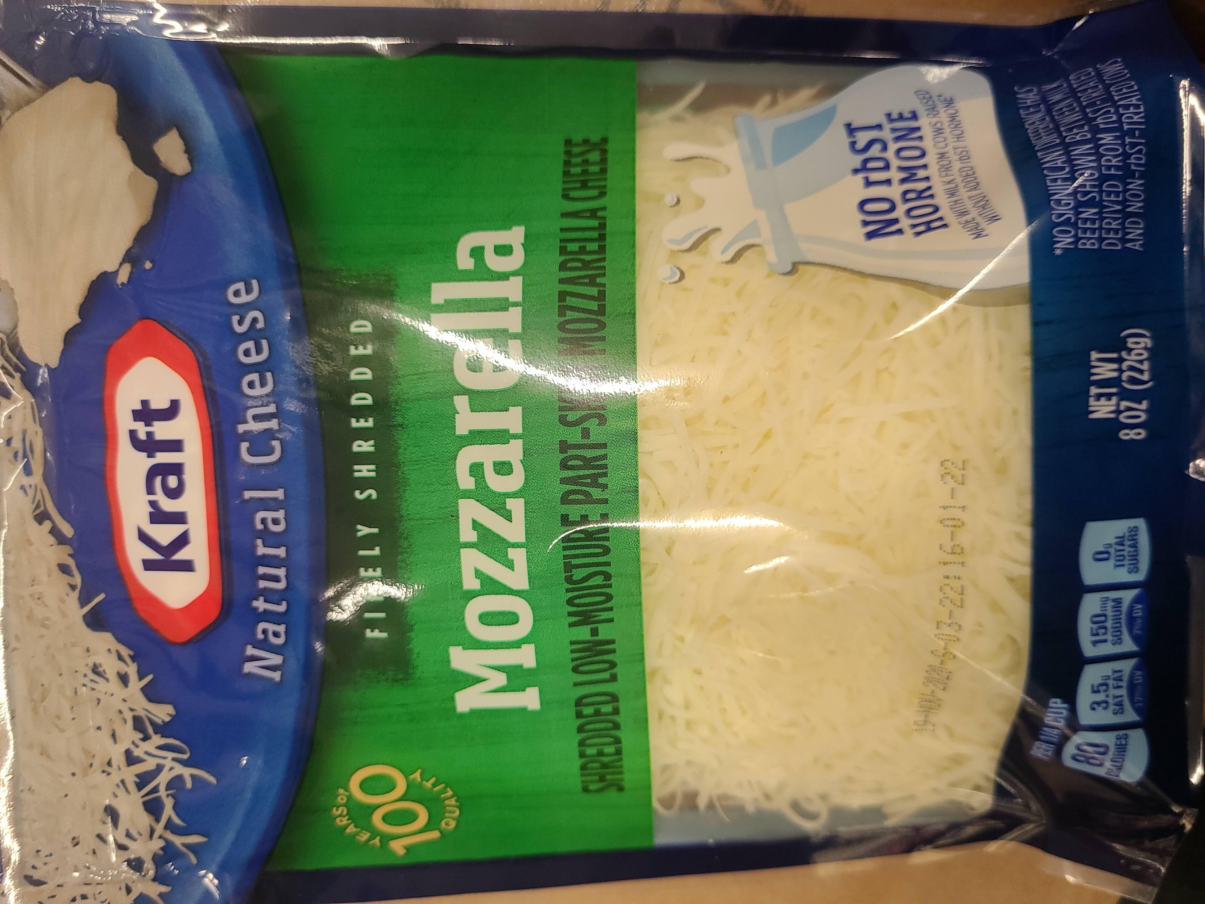 mozzarella cheese - Product - en