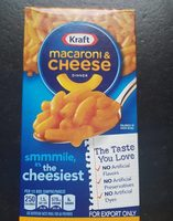 Macaroni & cheese dinner - Produit - fr