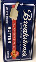 Salted Butter - Nutrition facts - en