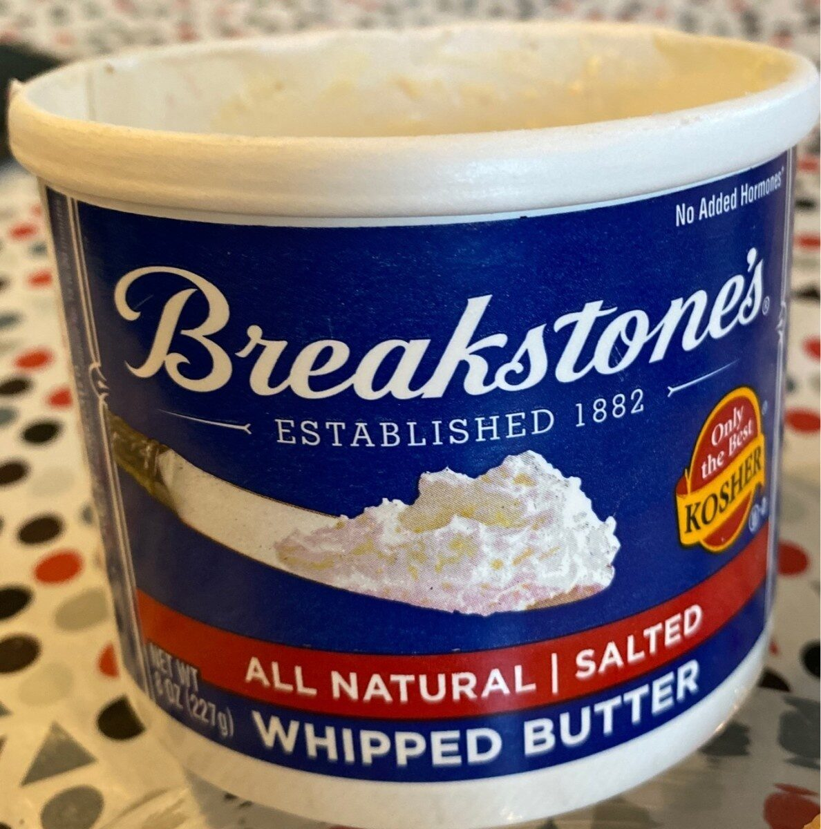 Whipped butter - Salted - Product - en