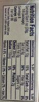 Cream Cheese, Original - Información nutricional