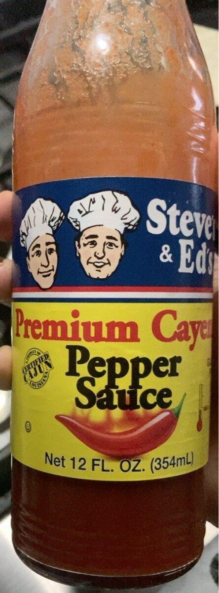 Premium Cayenne Pepper Sauce - Product - en