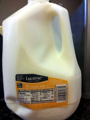 1% lowfat milk - Product
