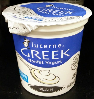 Greek Nonfat Yogurt - Product