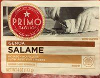 Primo Taglio Genoa Salame - Product
