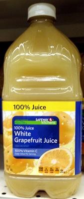 100% white grapefruit juice - Product - en