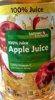 100% juice apple juice from concentrate with added ingredient - Product - en