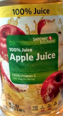 Safeway apple juice - Product