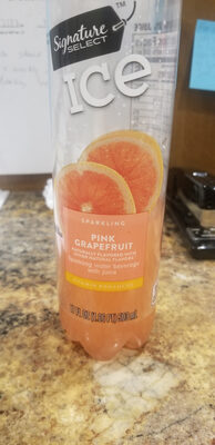 Sparkling Water With Juice, Pink Grapefruit - Product