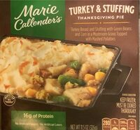 Turkey and stuffing thanksgiving pie - Product - en