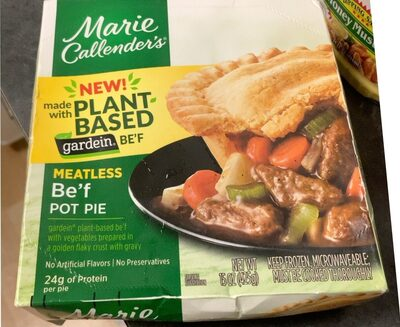 Plant Based Beef Pot Pie - Produit - en