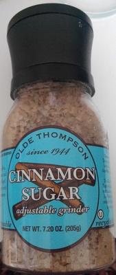 Cinnamon sugar - Product