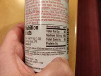 Seasoned salt - Informations nutritionnelles - en