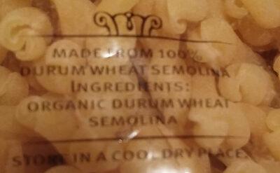 Macaroni pasta - Ingredients - en