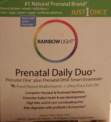 Prenatal Daily Duo - Product - en