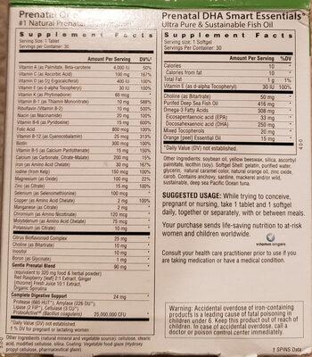 Prenatal Daily Duo - Ingredients - en