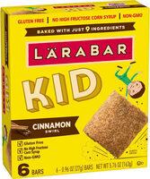 Larabar kid cinnamon swirl bar gluten free - Product - en