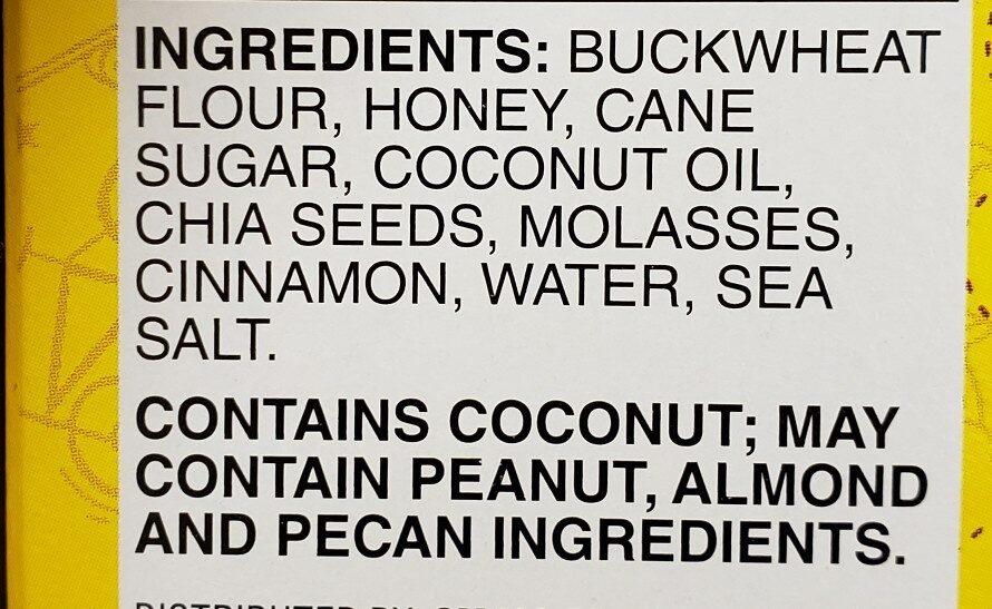 Larabar kid cinnamon swirl bar gluten free - Ingredients - en