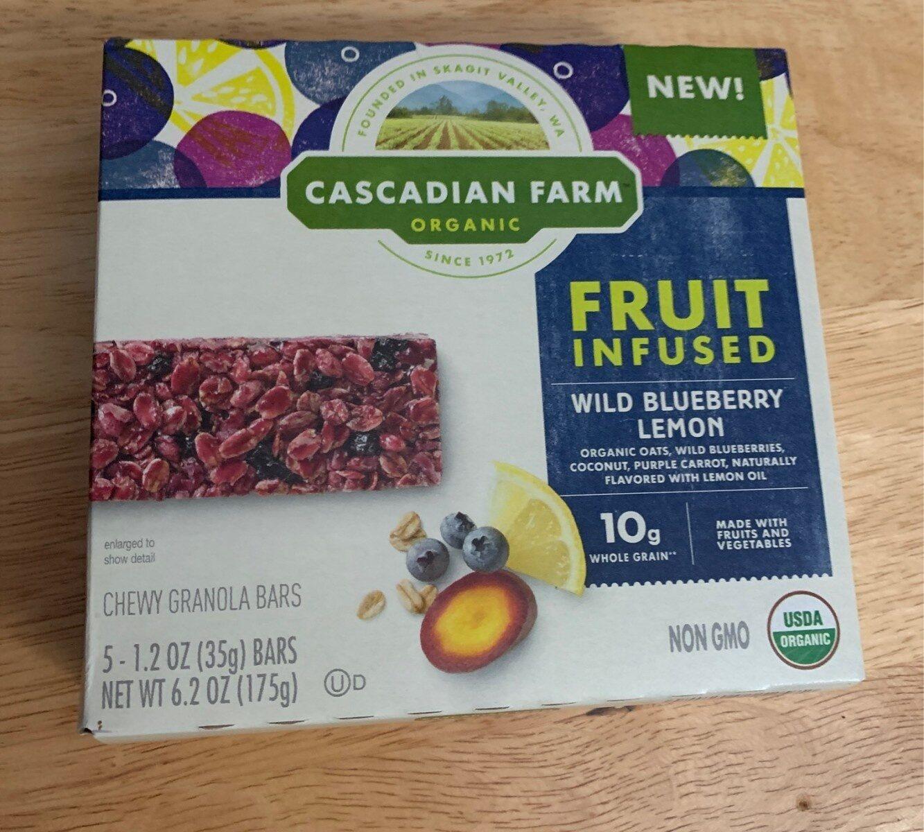 Organic organic wild blueberry lemon fruit infused - Product