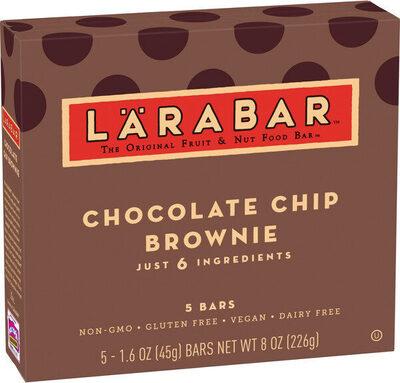 Chocolate chip brownie fruit & nut bar - Product - en