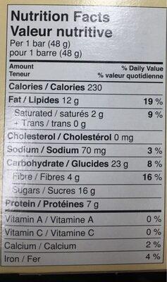 Larabar - Informations nutritionnelles - fr