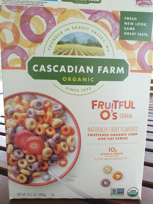 Cascadian Farm Organic Fruitful O's Cereal - Product - en