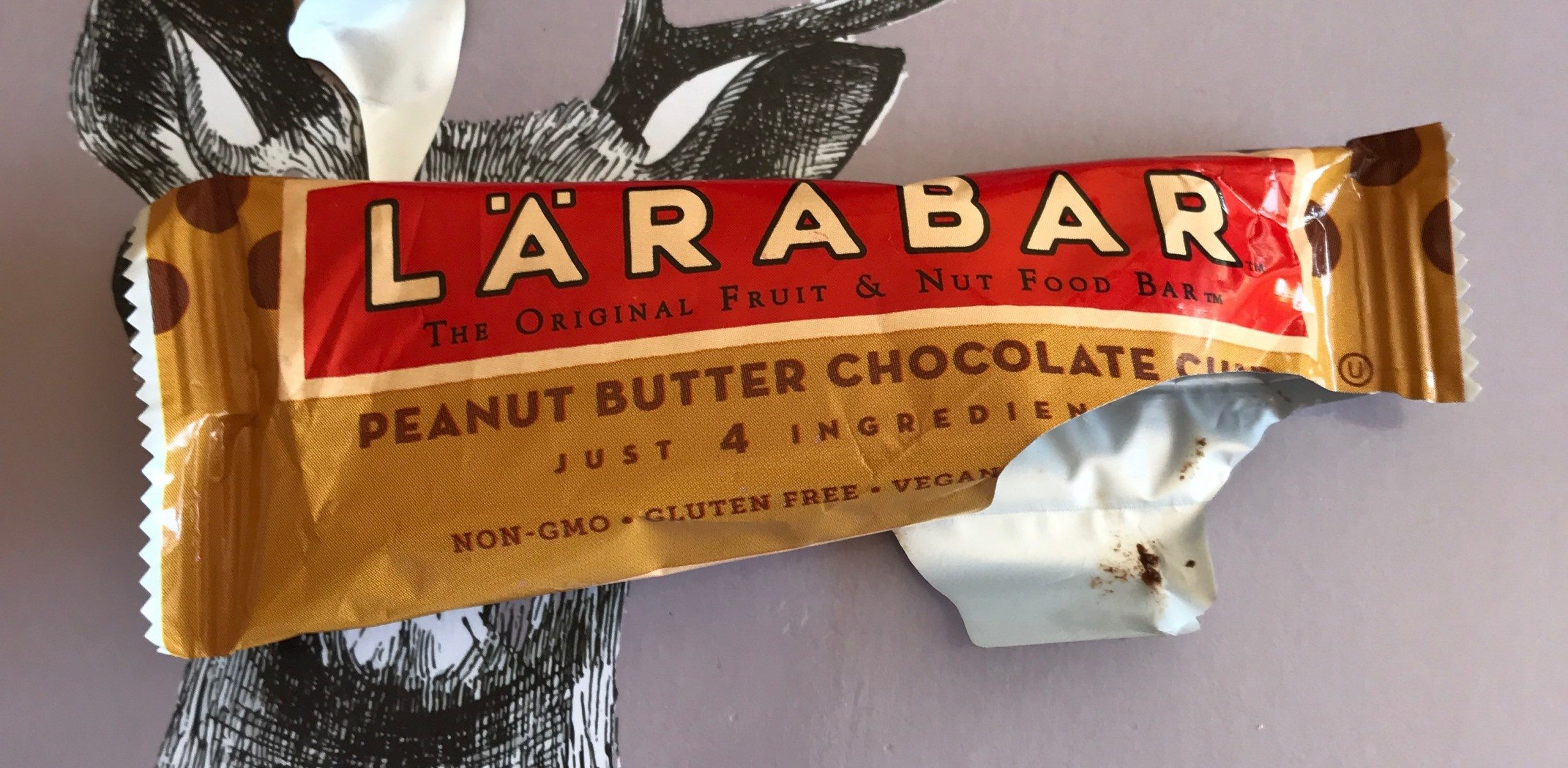 Larabar Peanut Butter Chocolate Chip Fruit & Nut Bar - Produit - fr