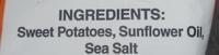 Original Sweet Potato Chips - Ingredients