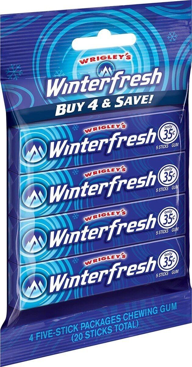 Winterfresh gum - Product - en