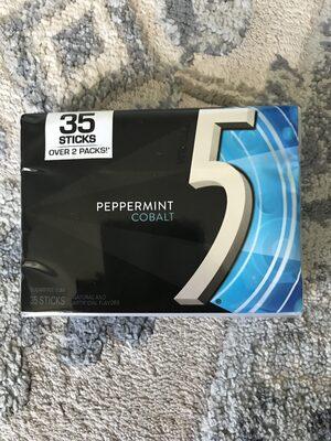 Wrigley's peppermint cobalt sugarfree gum - Product - en