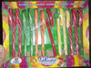 5 flavors candy canes, watermelon, pineapple, raspberry, orange, cherry - Product