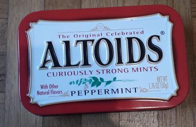 Altoids: Peppermint - Product