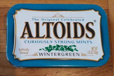 Altoids, mints, wintergreen - Produit - en
