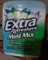 Extra refreshers mint mix - Produit - fr